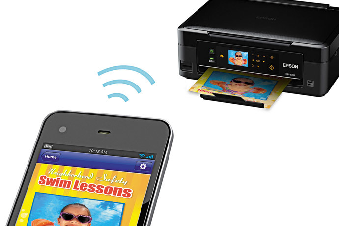 Epson Expression Home XP-400 Small-in-One All-in-One Printer