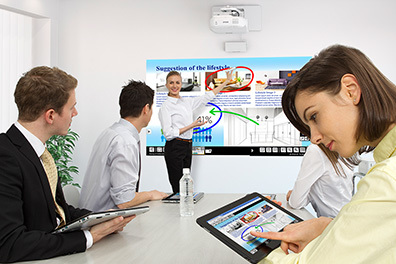 BrightLink Pro 1430Wi Collaborative Whiteboarding Solution with Touch