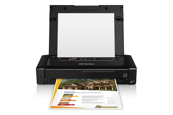 epson workforce wf-100 mobile printer   inkjet   printers   for
