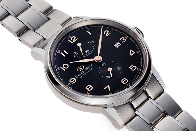 ORIENT STAR: Mechanical Classic Watch, Metal Strap - 38.7mm (RE-AW0001B)