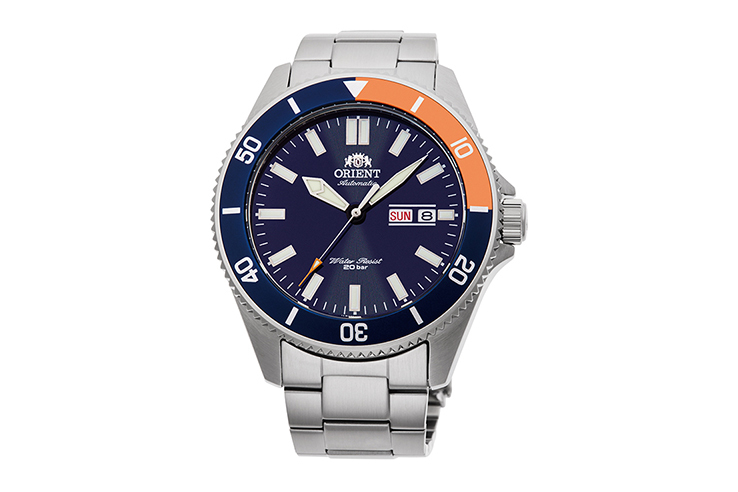 ORIENT: Mechanical Sports Watch, Metal Strap - 44.0mm (RA-AA0913L)