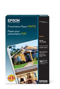 """Presentation Paper Matte, 8.5"""" x 14"""", 100 sheets"""