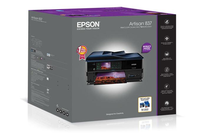 epson artisan 837 all in one printer inkjet printers for home rh epson com epson artisan 837 user guide Epson Artisan 837 Software