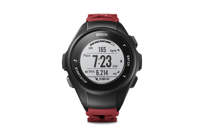 ProSense 57 GPS Running Watch - Red
