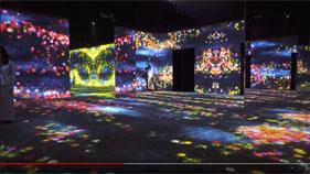พิพิธภัณฑ์ Mori Building Digital Art ในญี่ปุ่น