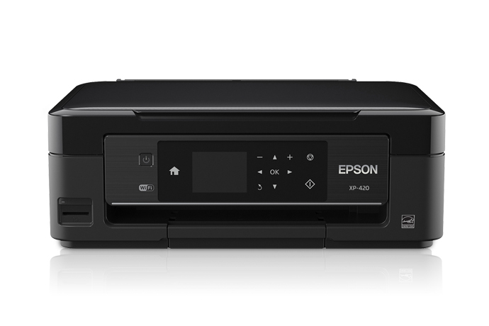 epson expression home xp 420 small in one all in one printer inkjet printers for home. Black Bedroom Furniture Sets. Home Design Ideas