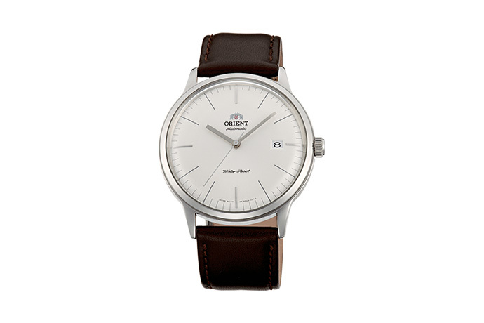 ORIENT: Mechanical Classic Watch, Leather Strap - 40.5mm (AC0000EW)