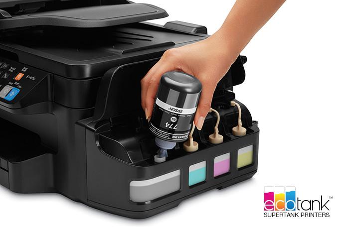 Epson WorkForce ET-4550 EcoTank All-in-One Printer ...