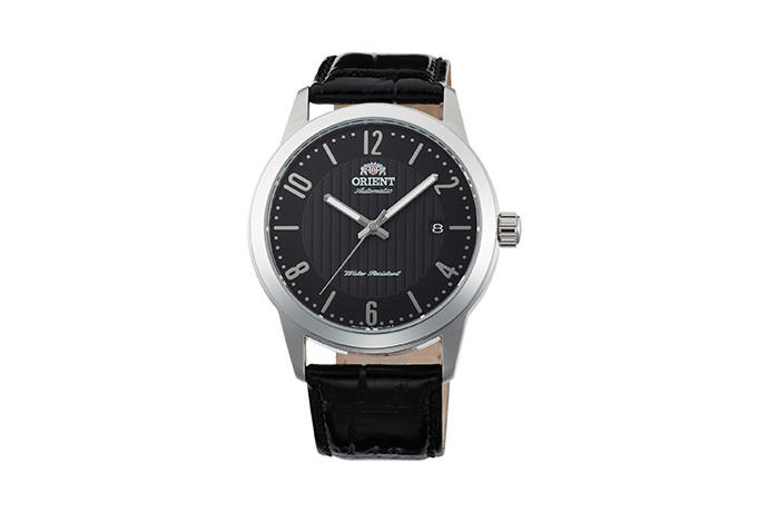ORIENT: Mechanical Contemporary Watch, Leather Strap - 41.0mm (AC05006B)