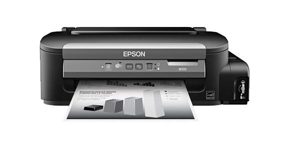 Epson 정품 무한 M105 흑백 프린터 프린터 비즈니스용 제품 Epson Korea