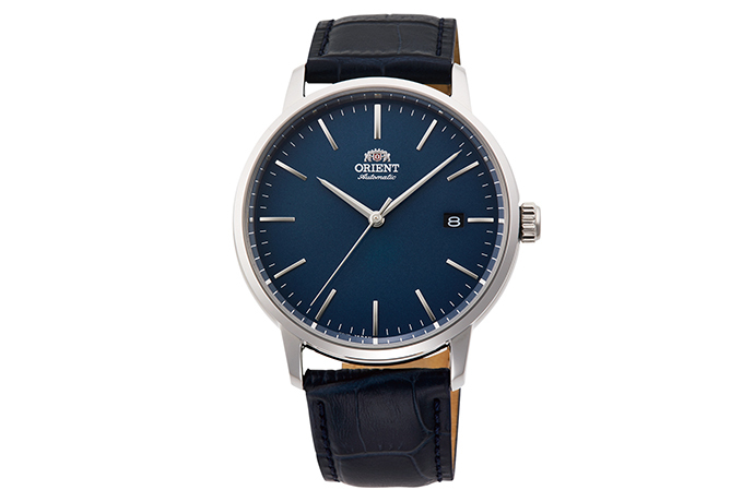 ORIENT: Mechanical Contemporary Watch, Leather Strap - 40.0mm (RA-AC0E04L)