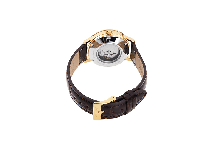 ORIENT: Mechanical Contemporary Watch, Leather Strap - 32.0mm (RA-NB0104S)