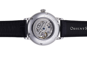 ORIENT STAR: Mechanical Classic Watch, CrocodileLeather Strap - 40mm (RE-HH0002L)