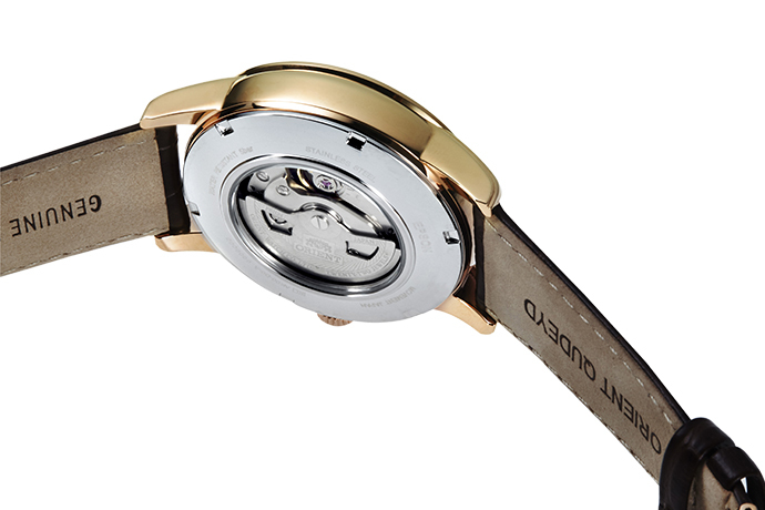 ORIENT: Mechanical Classic Watch, Leather Strap - 42.5mm (AK00001Y)
