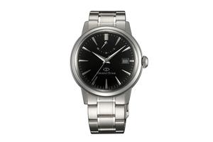 Orient Star: Mecánico Clásico Reloj, Metal Correa - 38.5mm (AF02002B)