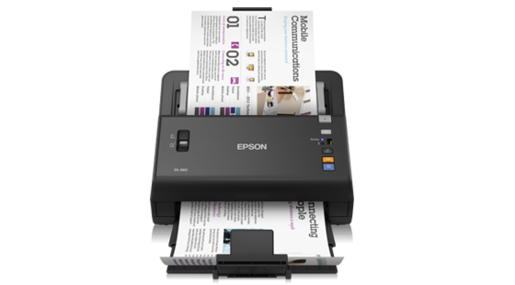 Scanner Colorido de Documentos WorkForce DS-860