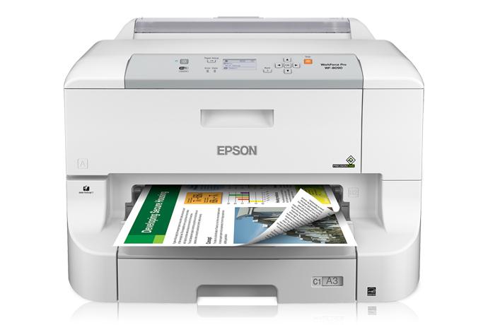 Epson WorkForce Pro WF-8090 Network Color Printer w/ PCL/Postscript