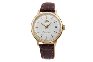 ORIENT: Mechanical Classic Watch, Leather Strap - 36.0mm (RA-AC0011S)
