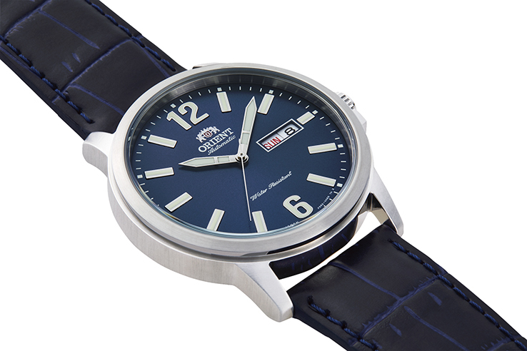ORIENT: Mechanical Contemporary Watch, Leather Strap - 41.9mm (RA-AA0C05L)