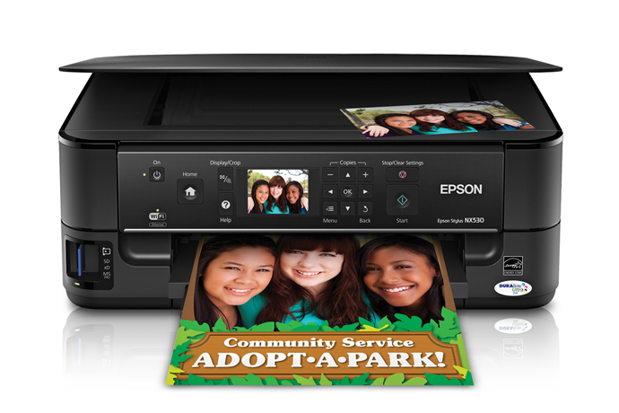 epson stylus nx530 all-in-one printer   inkjet   printers   for