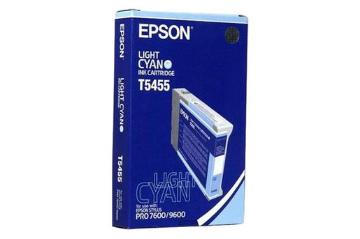 Epson T545, 110 ml Light Cyan Photographic Dye Ink Cartridge