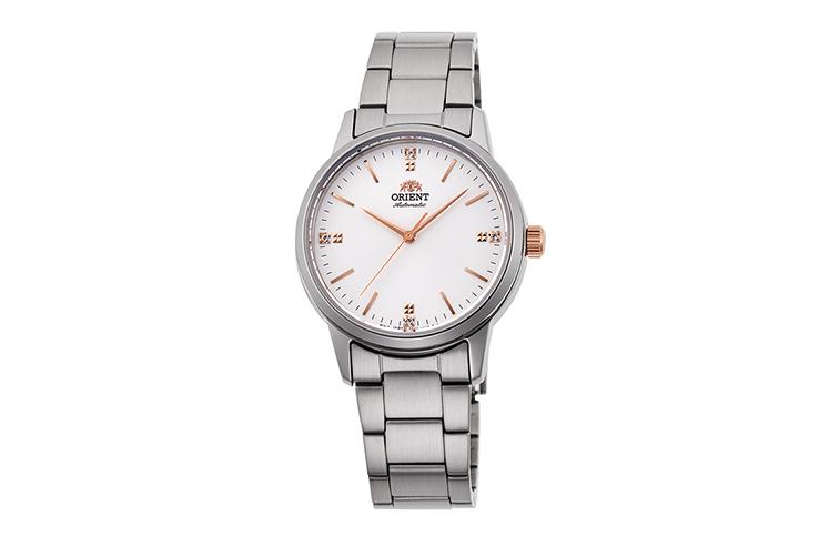 ORIENT: Mechanische Modern Uhr, Metall Band - 32.0mm (RA-NB0103S)