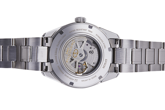 ORIENT STAR: Mechanisch Modern Uhr, Metall Band - 41mm (RE-DK0001L)