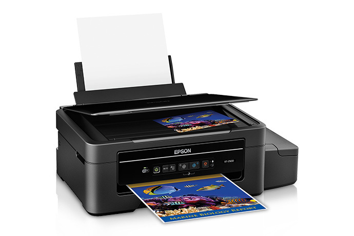 Epson Expression ET-2500 EcoTank All-in-One Printer - Refurbished