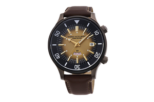 ORIENT: Mechanical Revival Watch, Leather Strap - 43.8mm (RA-AA0D04G)  Limited