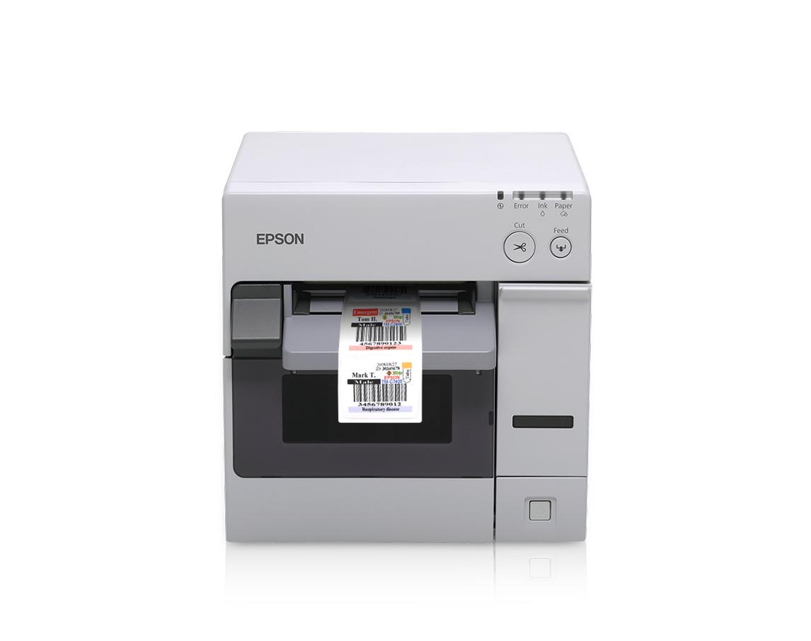 It's just a picture of Dynamite Colorworks Securcolor C3400 Inkjet Label Printer
