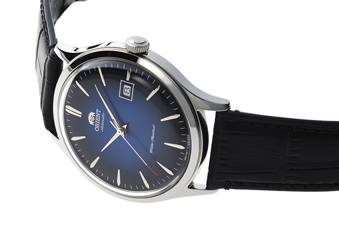ORIENT: Mechanical Classic Watch, Leather Strap - 42.0mm (AC08004D)