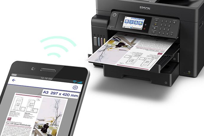 Impressora Multifuncional EcoTank L15160