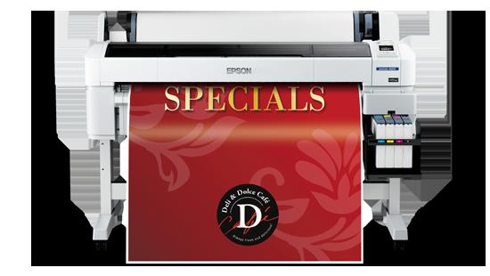 Epson SureColor SC-B6070 Indoor Signage Printer