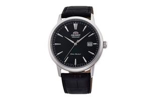 ORIENT: Mechanical Contemporary Watch, Leather Strap - 41.6mm (RA-AC0F05B)