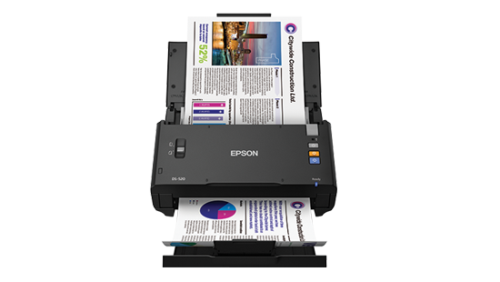 Scanner Colorido Epson WorkForce DS-520