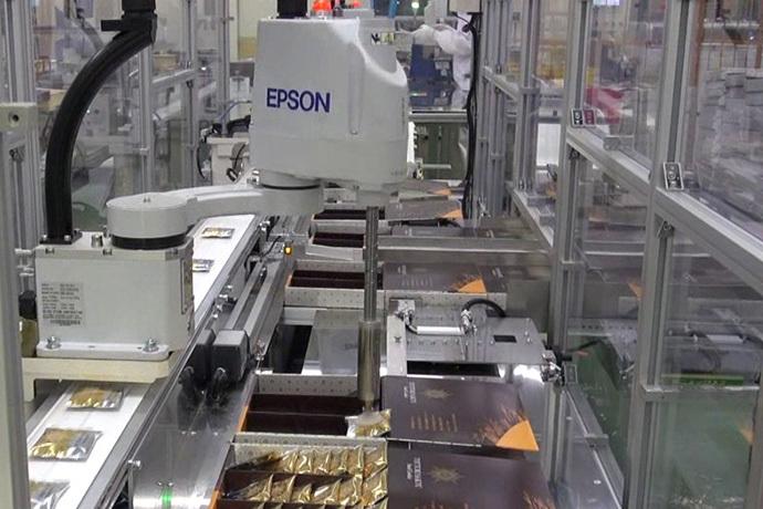 Epson Conveyor Tracking