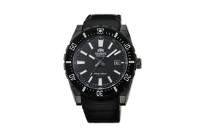 ORIENT: Mechanical Sports Watch, Leather Strap - 46.0mm (AC09001B)