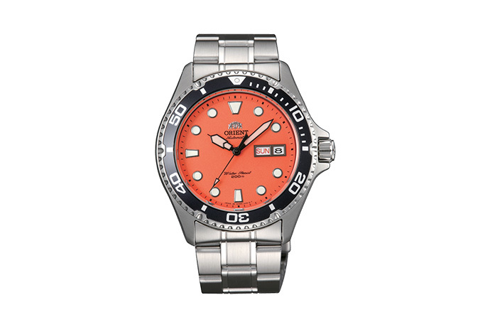 ORIENT: Mechanical Sports Watch, Metal Strap - 41.5mm (AA02006M)