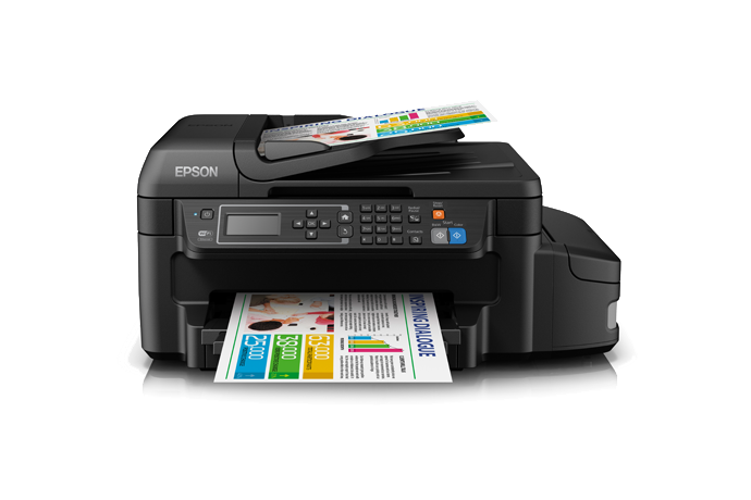 Impressora Epson Ecotank L656 Impressoras A Jato De