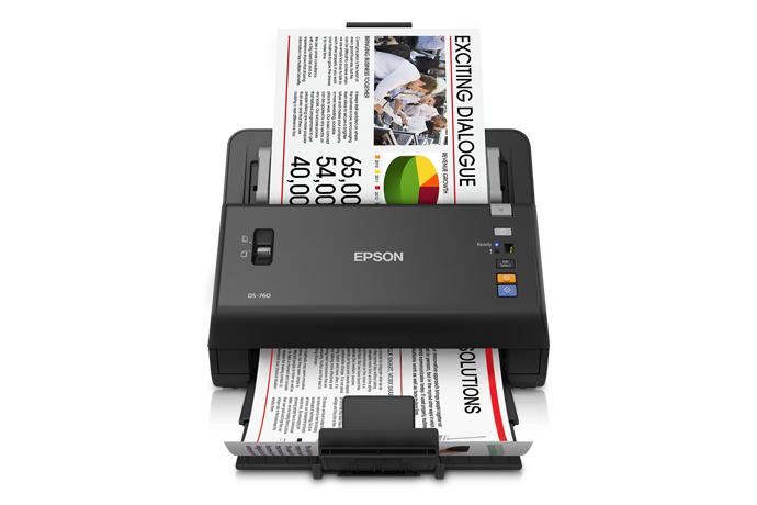 Epson WorkForce DS-760 Color Document Scanner - Refurbished