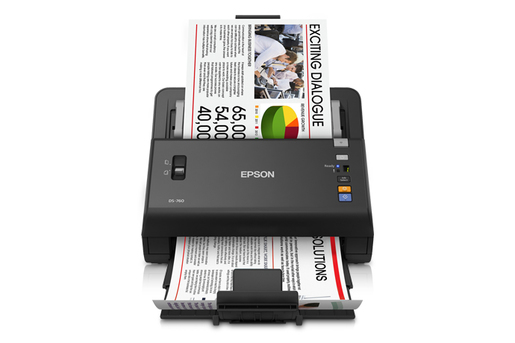 Epson WorkForce DS-760 Color Document Scanner - Refurbished