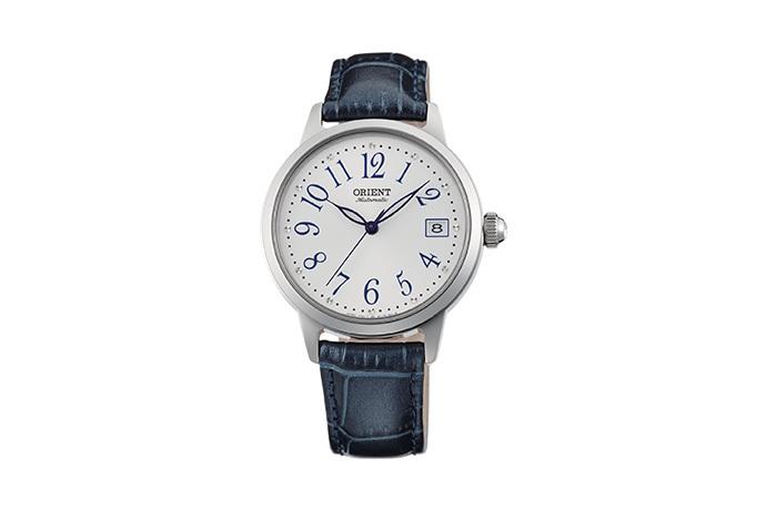 ORIENT: Mechanical Contemporary Watch, Leather Strap - 35.5mm (AC06003W)