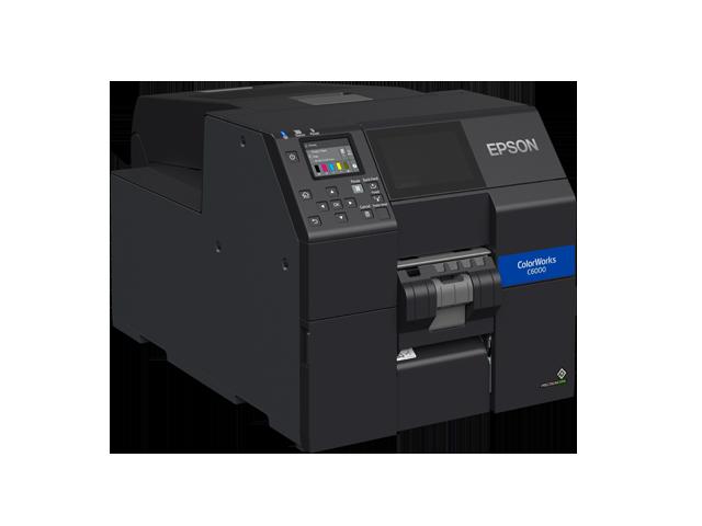 Epson ColorWorks C6050P Peel-and-Present Colour Label Printer