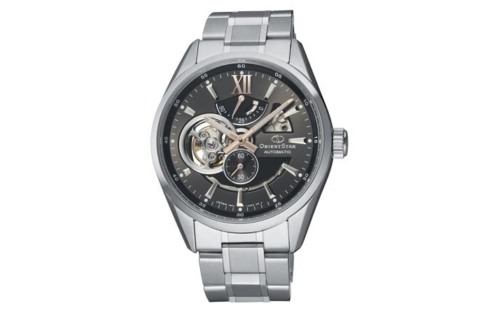 ORIENT STAR: Mechanical Contemporary Watch, Metal Strap - 41.0mm (RE-AV0004N)