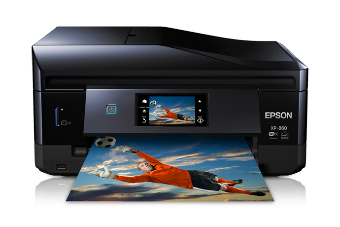 Epson Expression Photo XP-860 Small-in-One All-in-One Printer - Refurbished