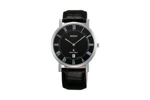 Orient: Cuarzo Clásico Reloj, Cuero Correa - 38.0mm (GW0100GB)