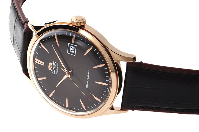 ORIENT: Mechanical Classic Watch, Leather Strap - 42.0mm (AC08001T)