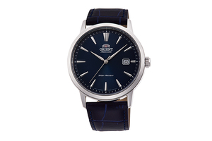 ORIENT: Mechanical Contemporary Watch, Leather Strap - 41.6mm (RA-AC0F06L)