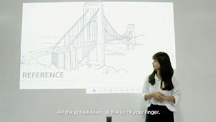 Epson Vietnam - Van Lang University using Interactive Projectors