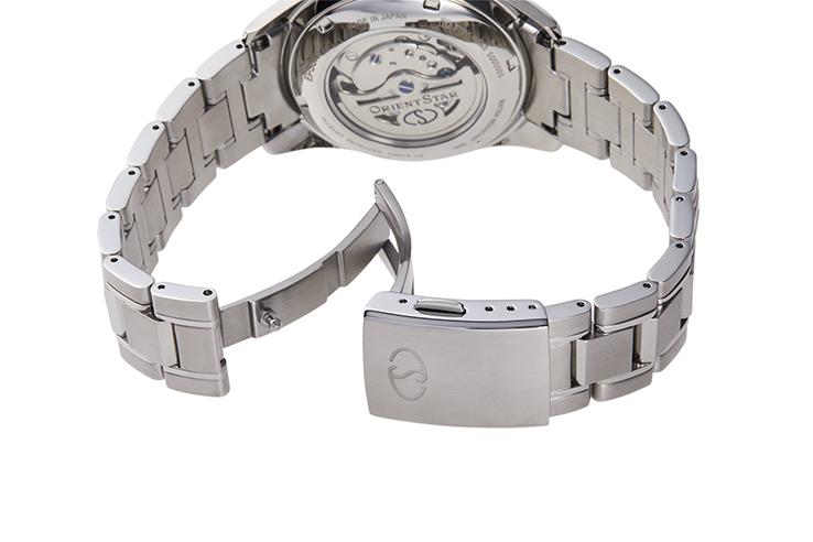 Orient Star: Mecánico Clásico Reloj, Cuero Correa - 38.5mm (AF02001S)